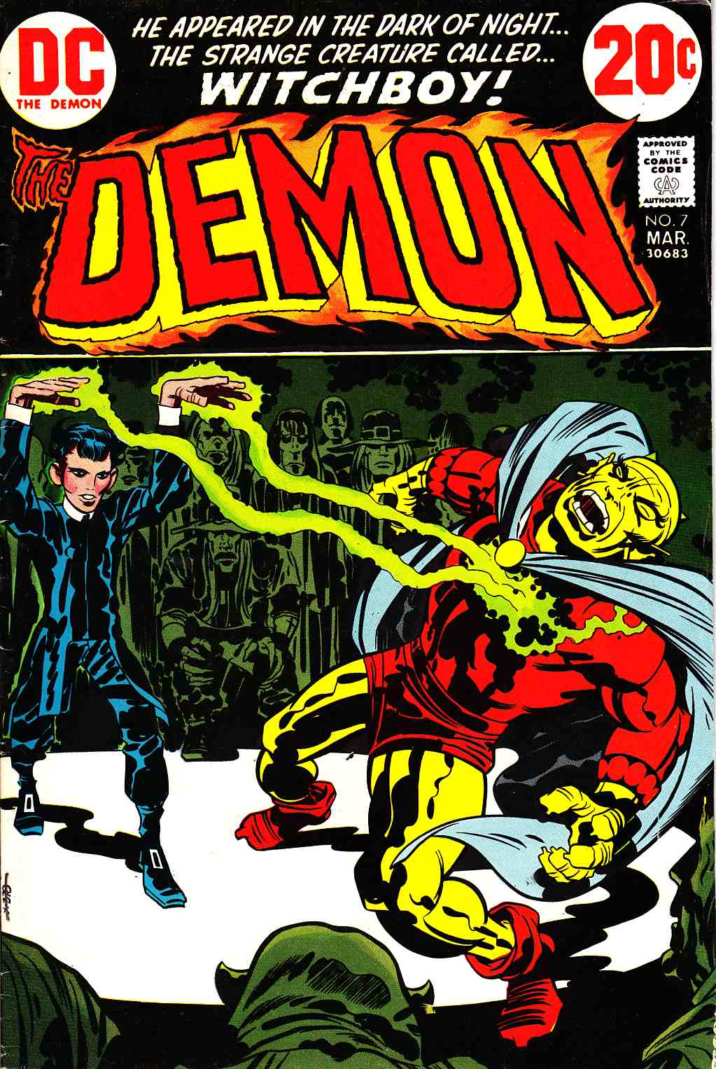 Demon #7 [DC Comic] LARGE