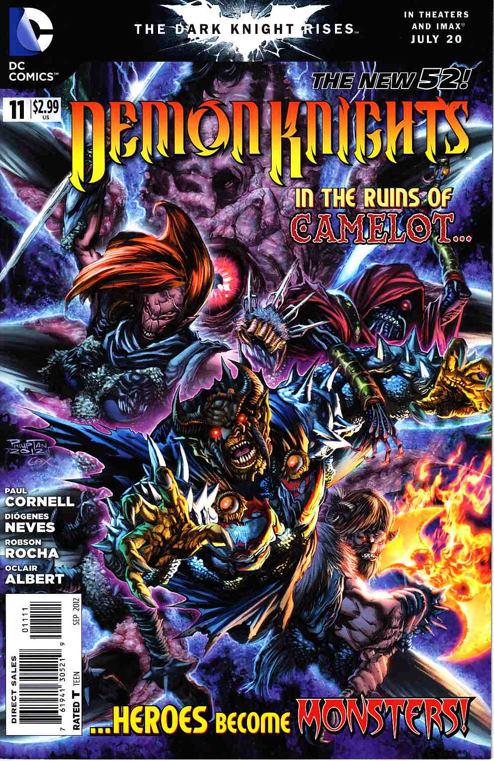 Demon Knights #11 [DC Comic] LARGE