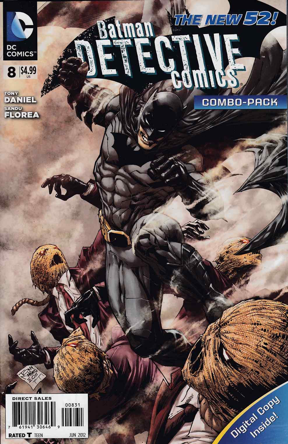 Detective Comics #8 Combo Pack Near Mint (9.4) [DC Comic] THUMBNAIL