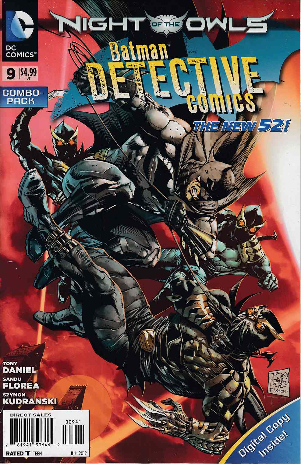 Detective Comics #9 Combo Pack Near Mint (9.4) [DC Comic] THUMBNAIL
