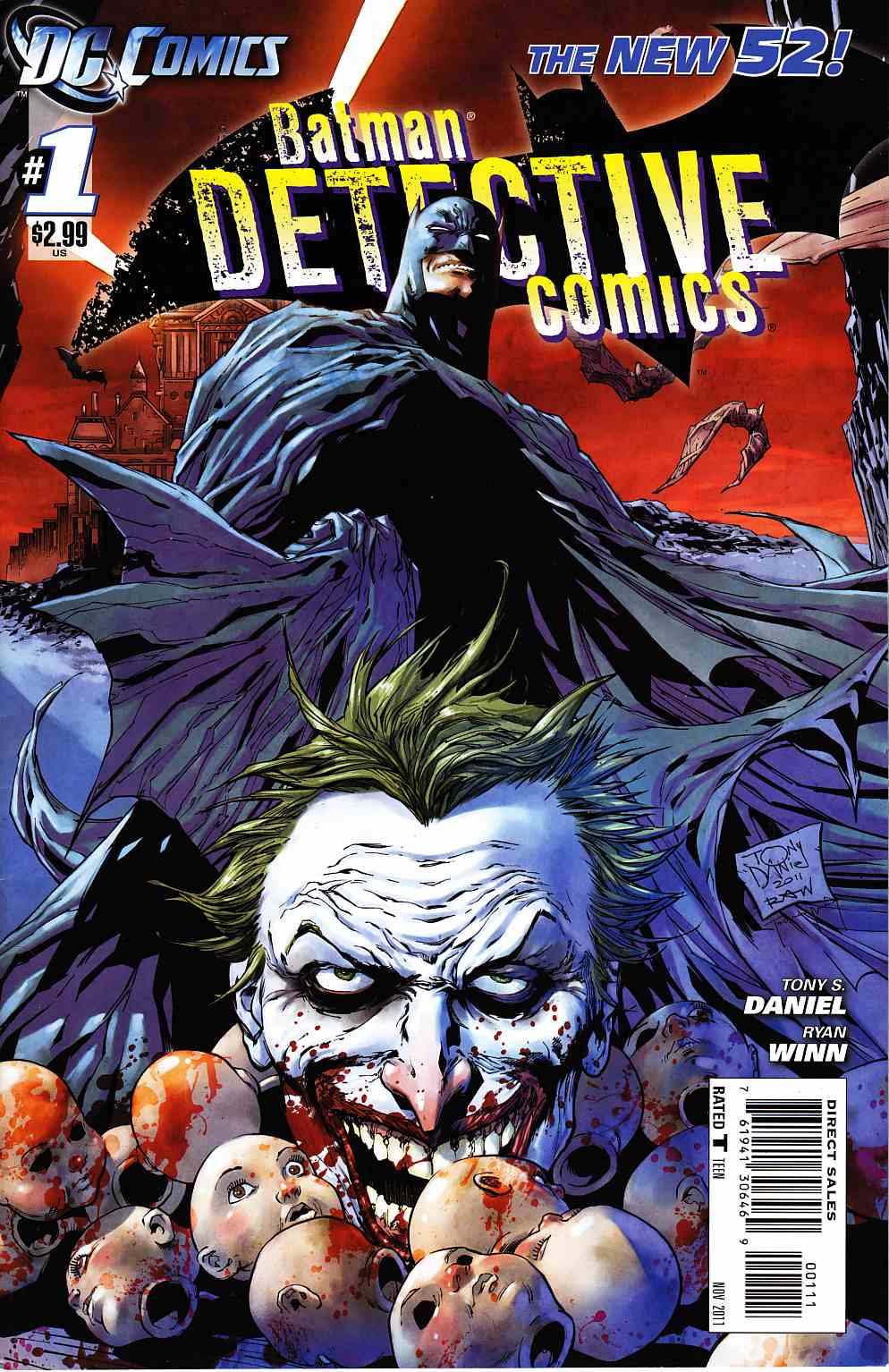 Detective Comics #1 Near Mint Minus (9.2) [DC Comic] THUMBNAIL