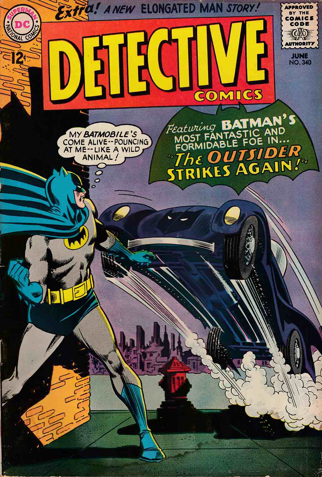 Detective Comics #340 Good (2.0) [DC Comic] THUMBNAIL