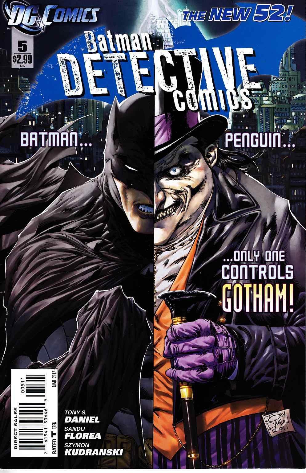 Detective Comics #5 Near Mint (9.4) [DC Comic] THUMBNAIL