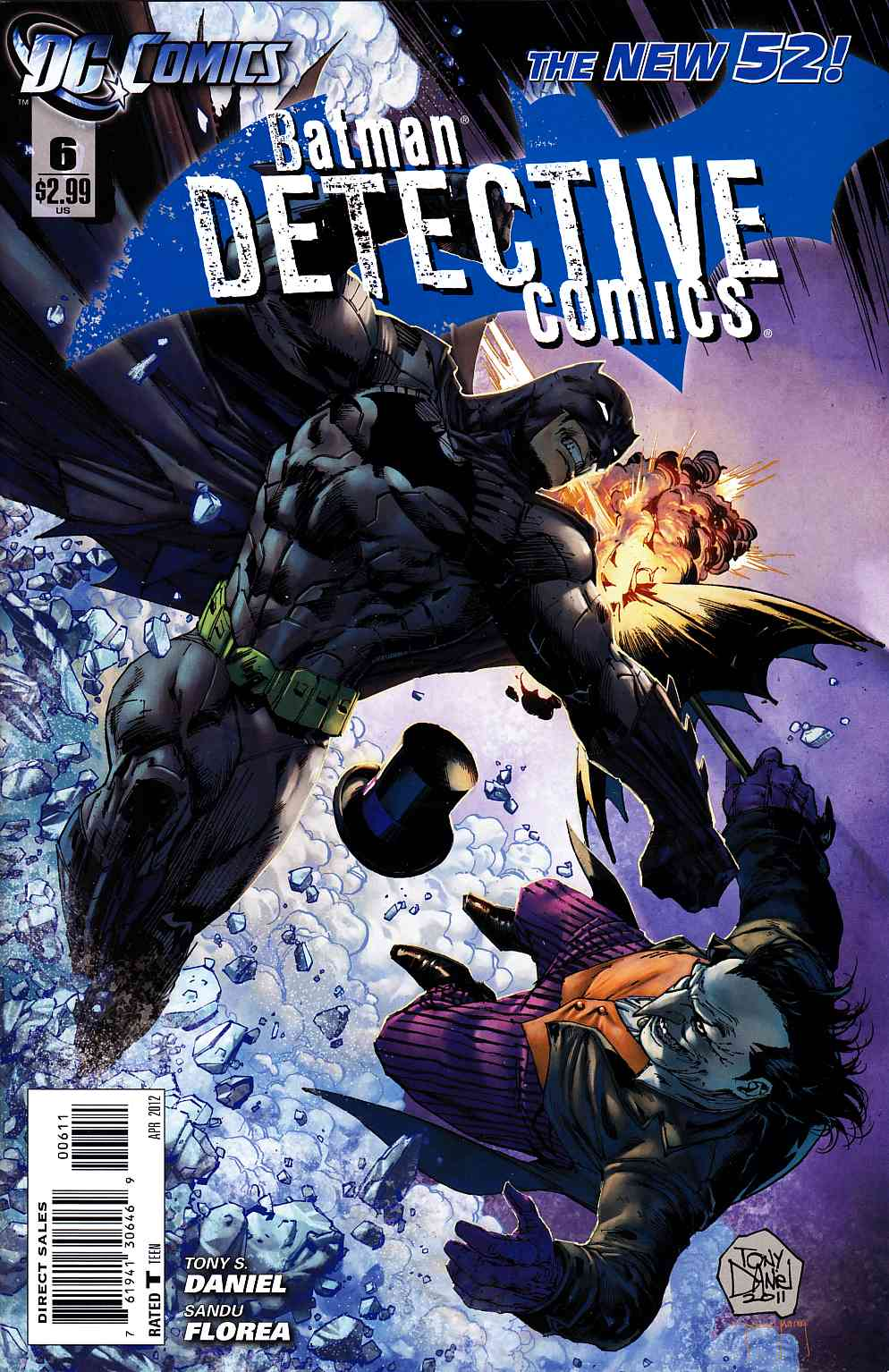 Detective Comics #6 Near Mint (9.4) [DC Comic] THUMBNAIL