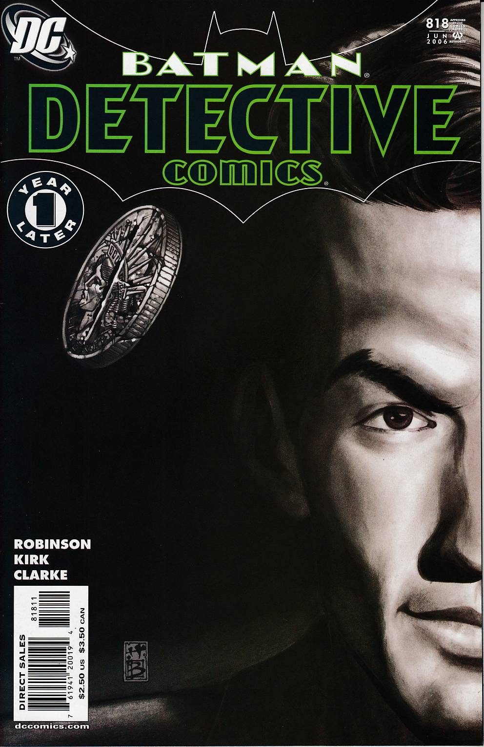 Detective Comics #818 Near Mint (9.4) [DC Comic]_THUMBNAIL