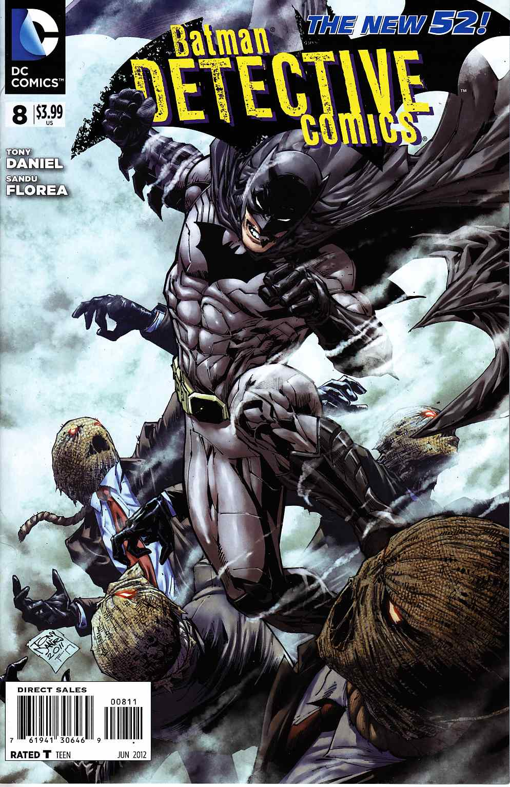 Detective Comics #8 Near Mint (9.4) [DC Comic] THUMBNAIL