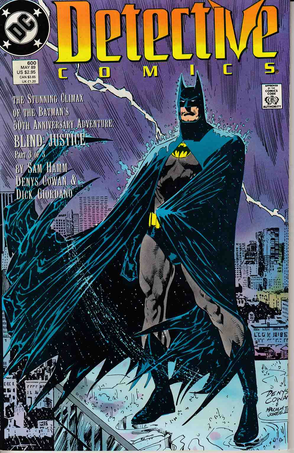 Detective Comics #600 Very Fine (8.0) [DC Comic] LARGE