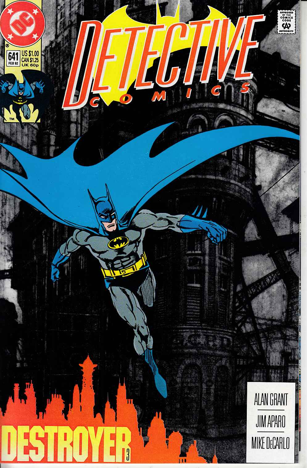 Detective Comics #641 Near Mint (9.4) [DC Comic] LARGE
