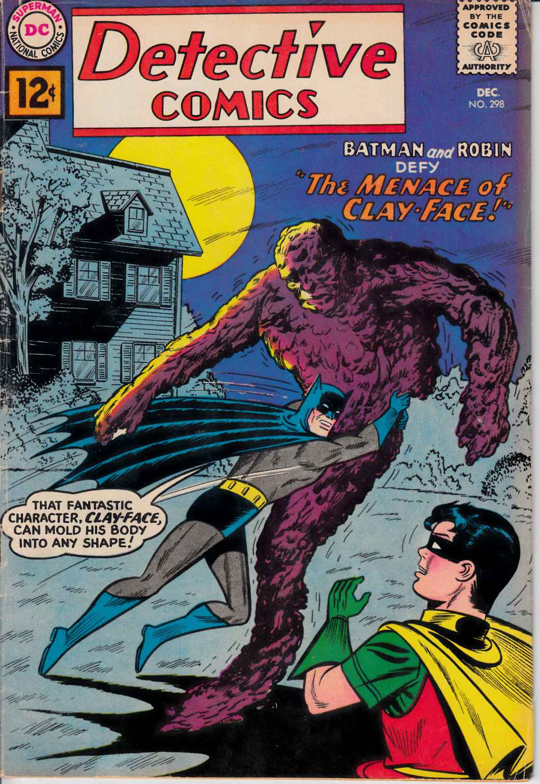 Detective Comics #298 Very Good Plus (4.5) [DC Comic]_THUMBNAIL
