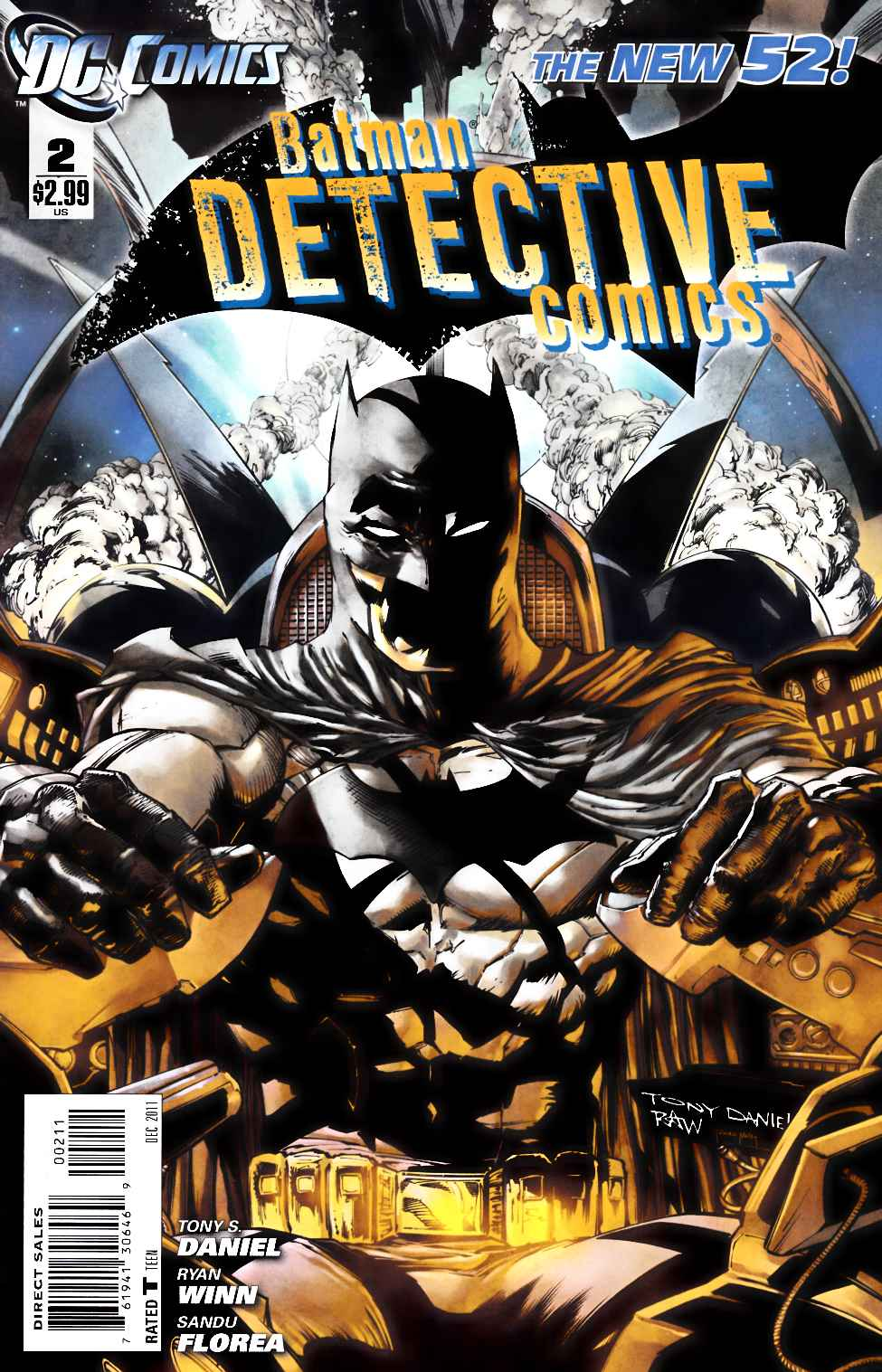 Detective Comics #2 Near Mint (9.4) [DC Comic] THUMBNAIL