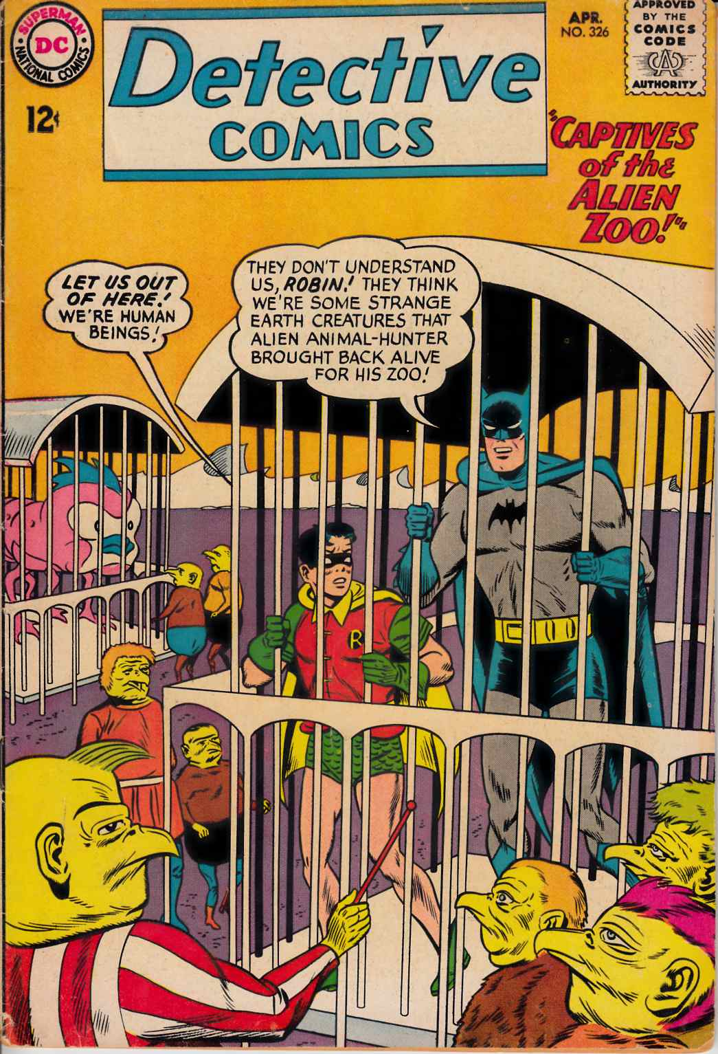 Detective Comics #326 Good Minus (1.8) [DC Comic]_THUMBNAIL