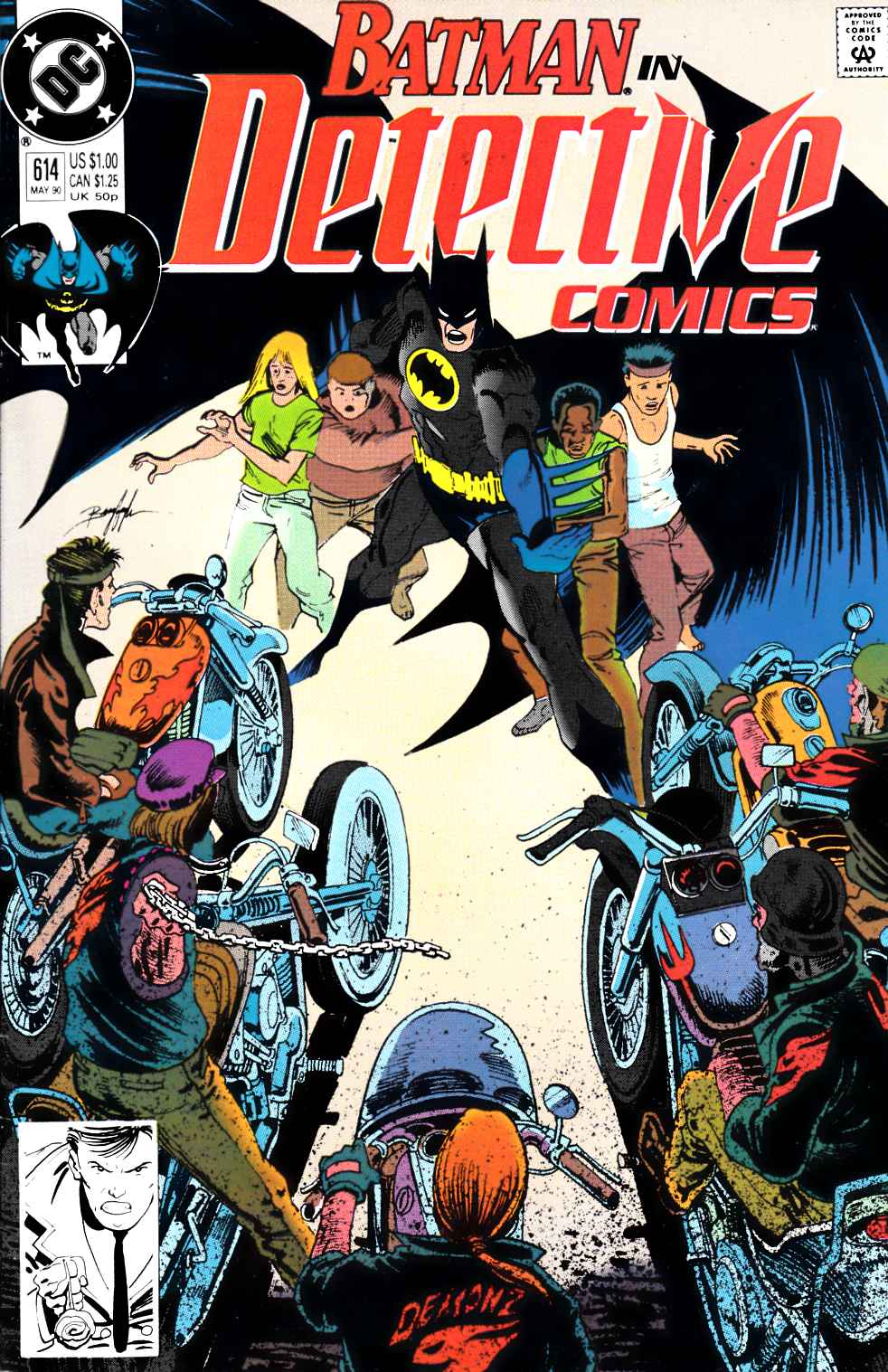 Detective Comics #614 Very Fine (8.0) [DC Comic] THUMBNAIL