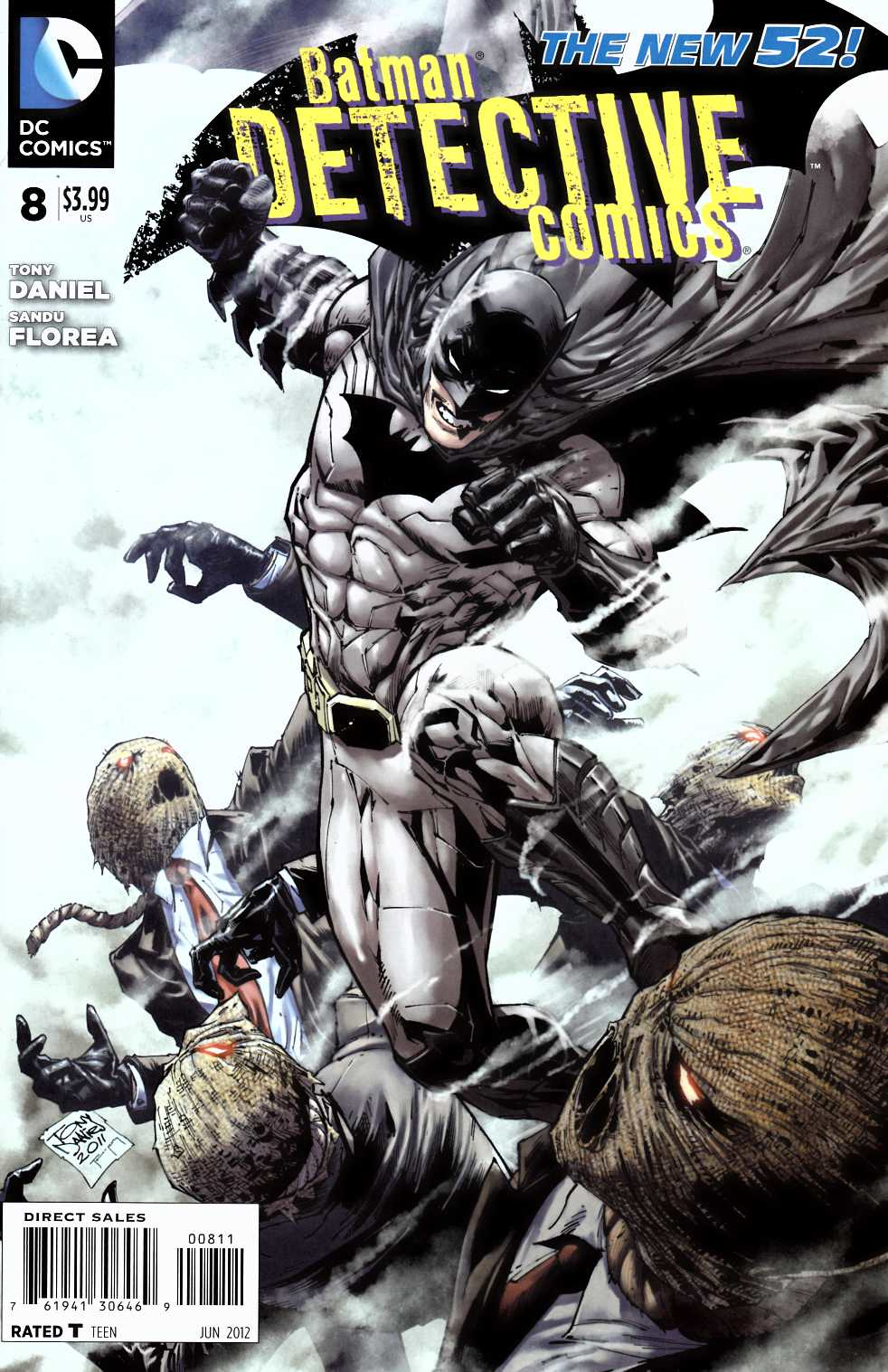 Detective Comics #8 Very Fine (8.0) [DC Comic] THUMBNAIL
