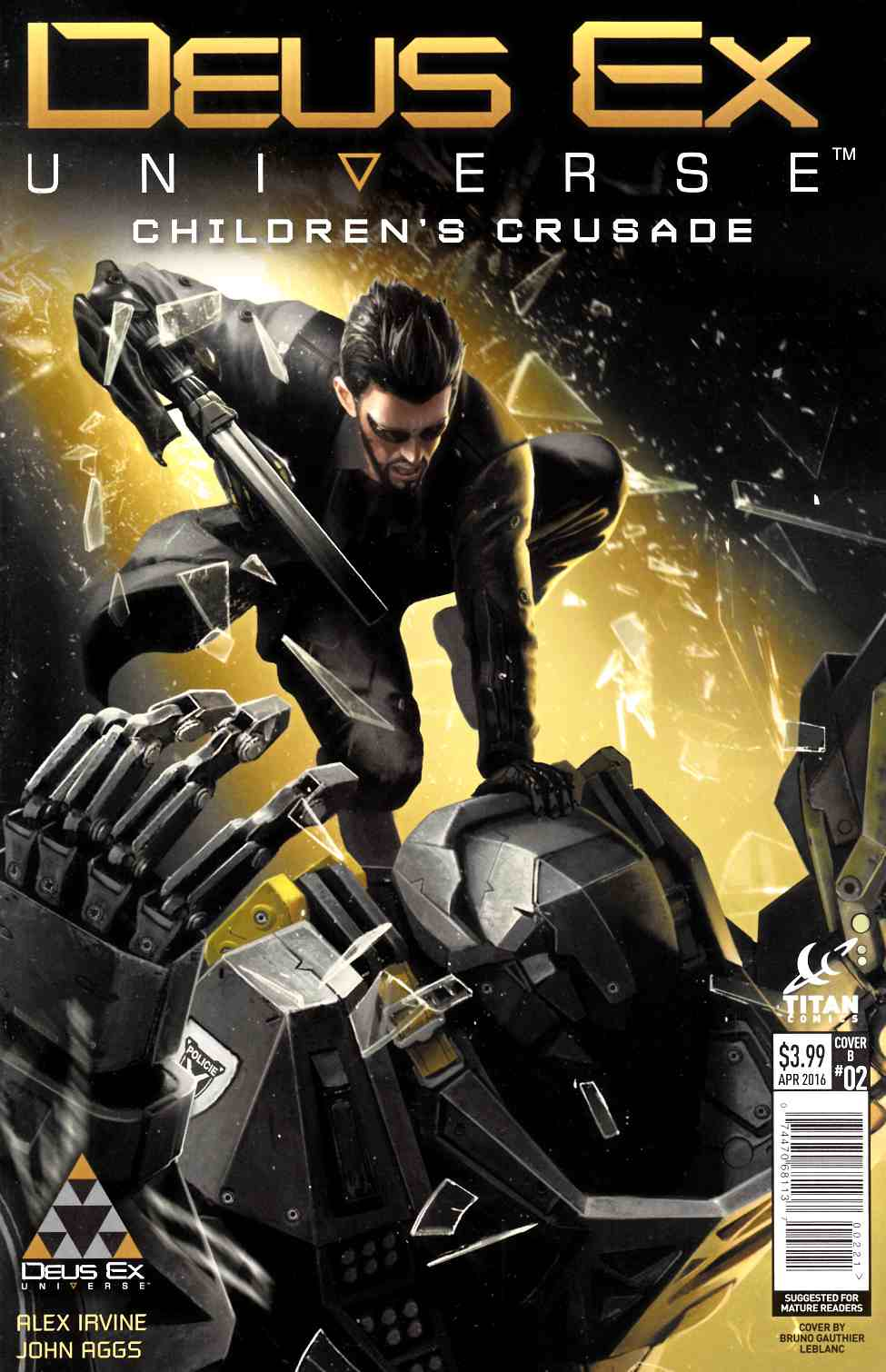 Deus Ex #2 Cover B [Titan Comic]