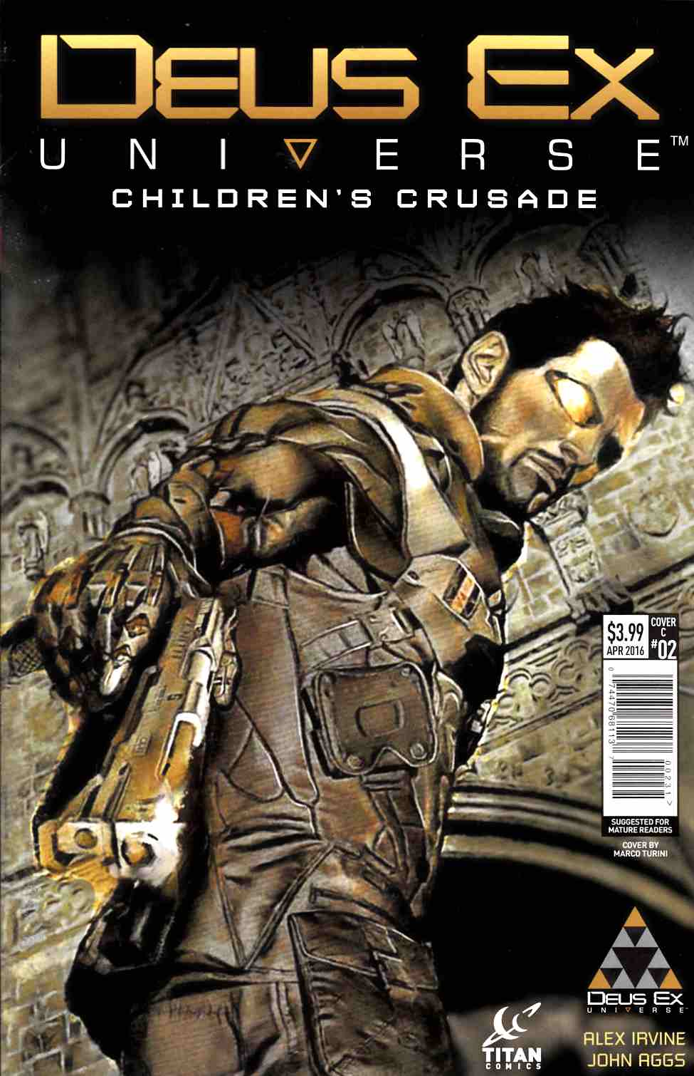Deus Ex #2 Cover C [Titan Comic]