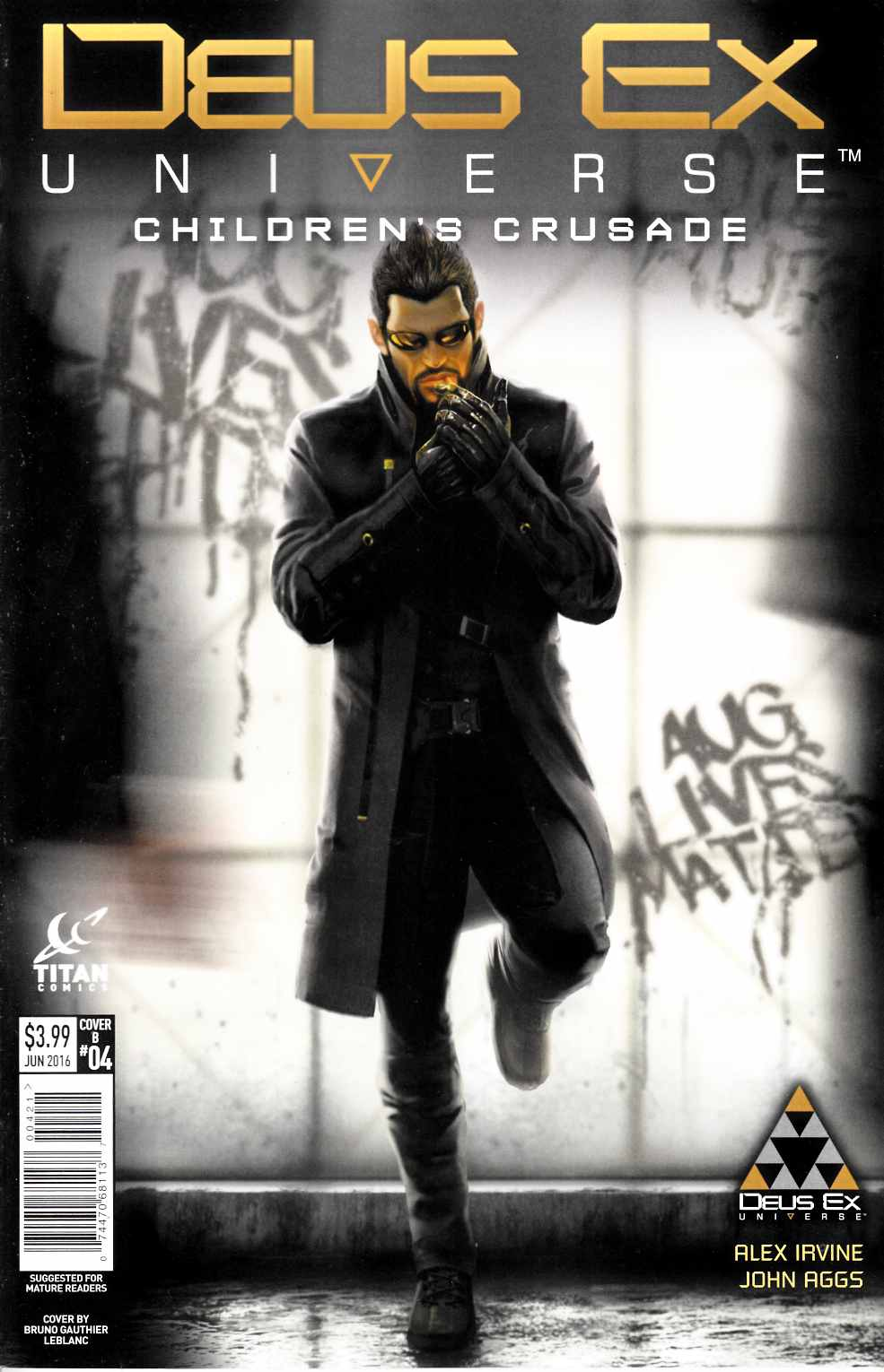 Deus Ex #4 Cover B [Titan Comic]
