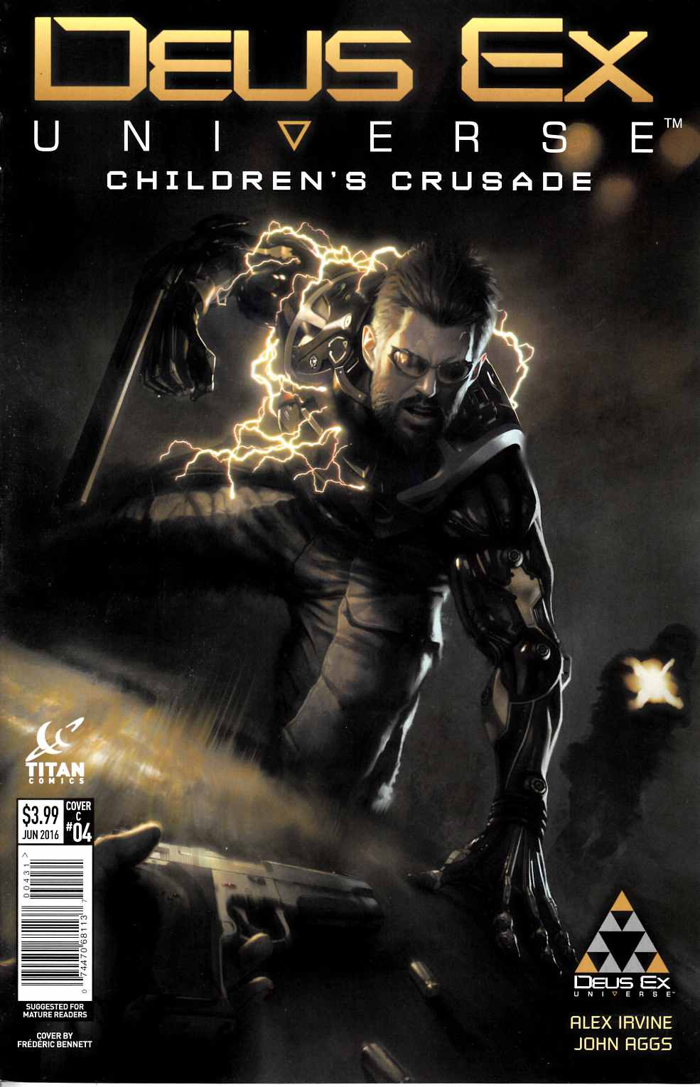Deus Ex #4 Cover C [Titan Comic]