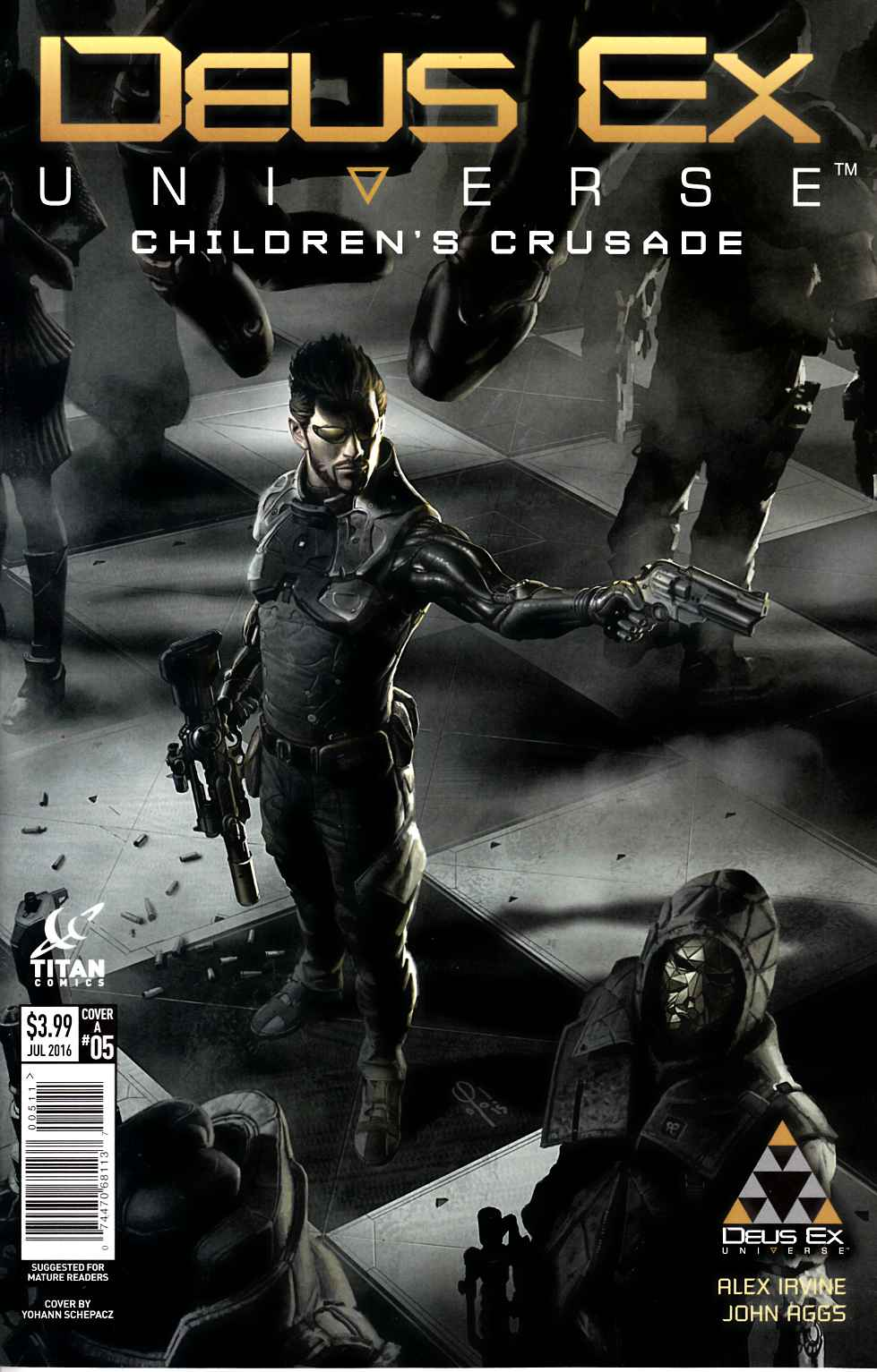 Deus Ex #5 Cover A [Titan Comic]