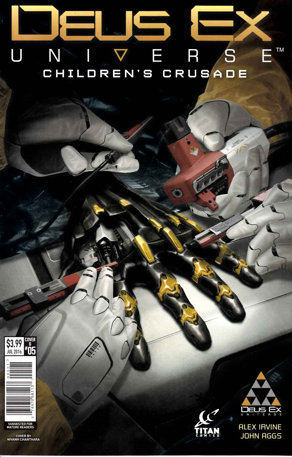Deus Ex #5 Cover B [Titan Comic]