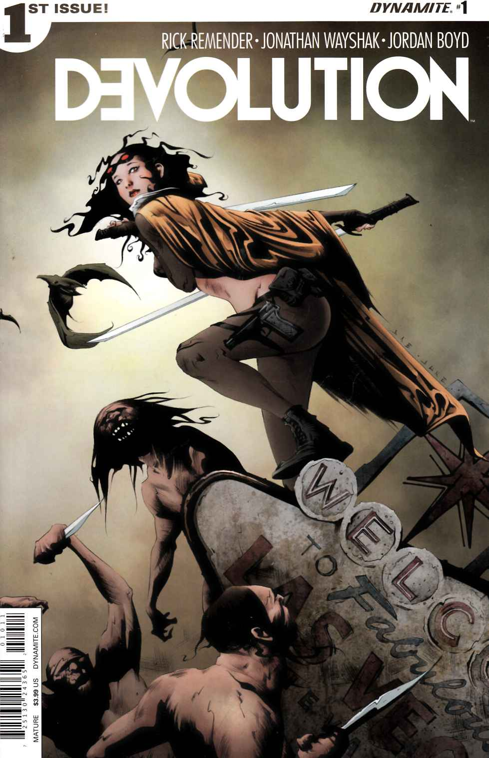 Devolution #1 Cover A- Lee [Dynamite Comic] THUMBNAIL