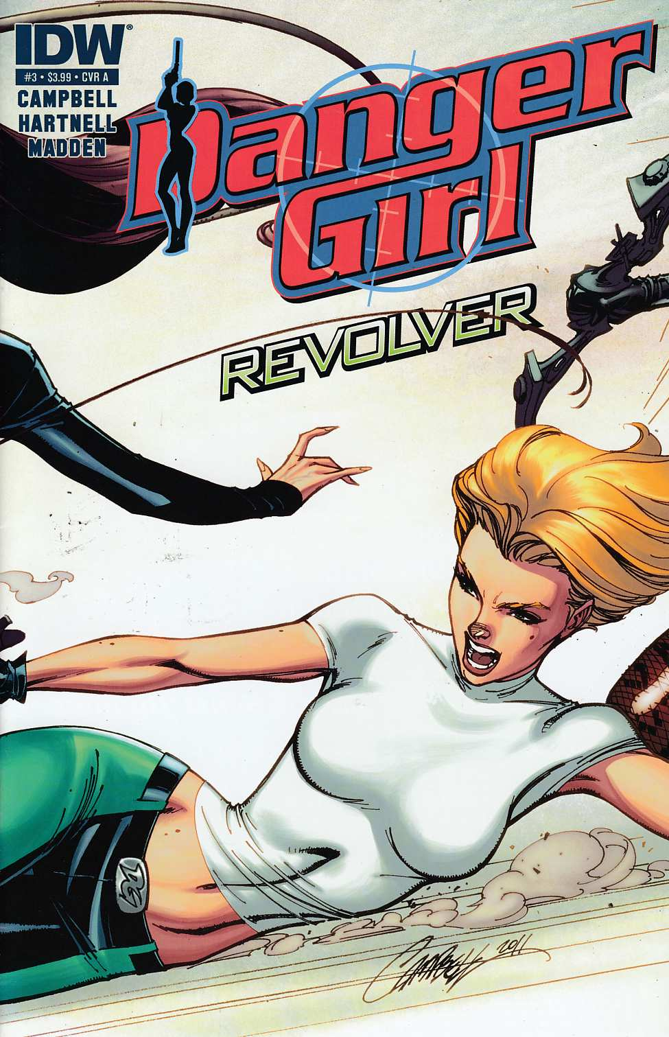 Danger Girl Revolver #3 Cover A Campbell Very Fine (8.0) [IDW Comic] THUMBNAIL