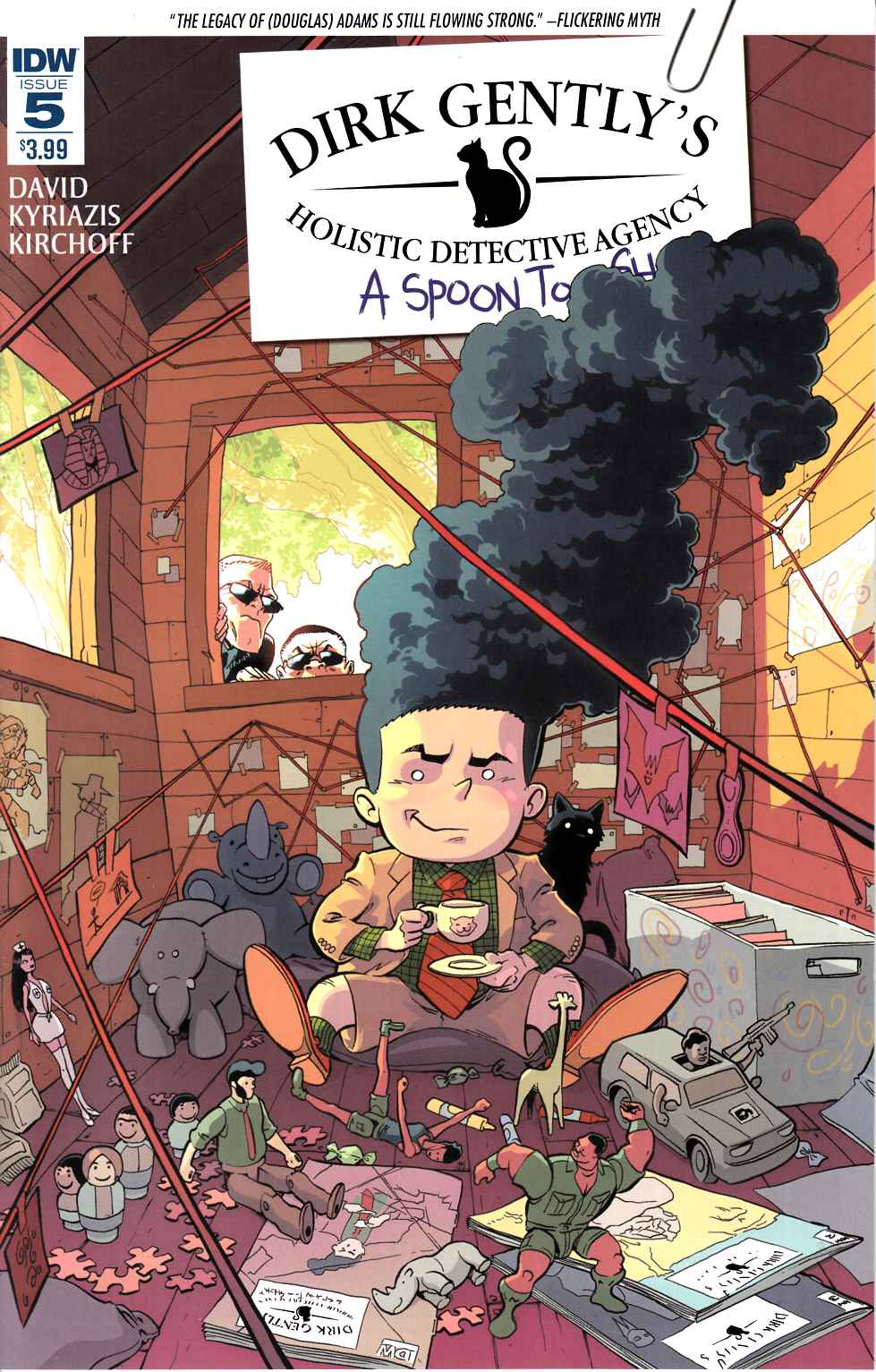 Dirk Gently a Spoon Too Short #5 [IDW Comic]