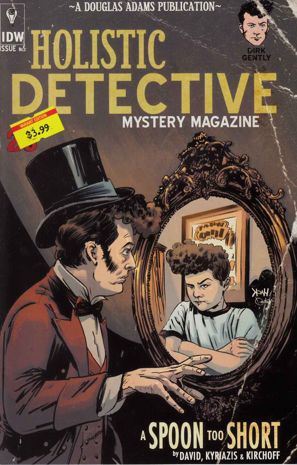 Dirk Gently a Spoon Too Short #5 Subscription Cover [IDW Comic]