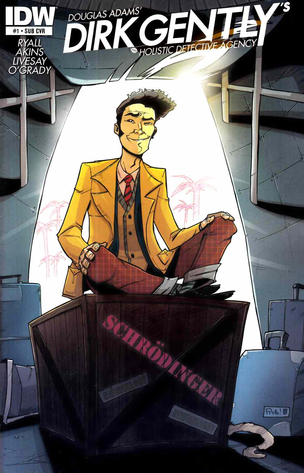 Dirk Gentlys Holistic Detective Agency #1 Subcription Cover [IDW Comic]