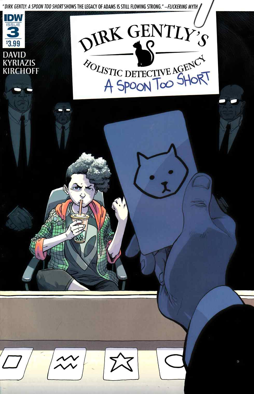 Dirk Gently a Spoon Too Short #3 [IDW Comic] LARGE