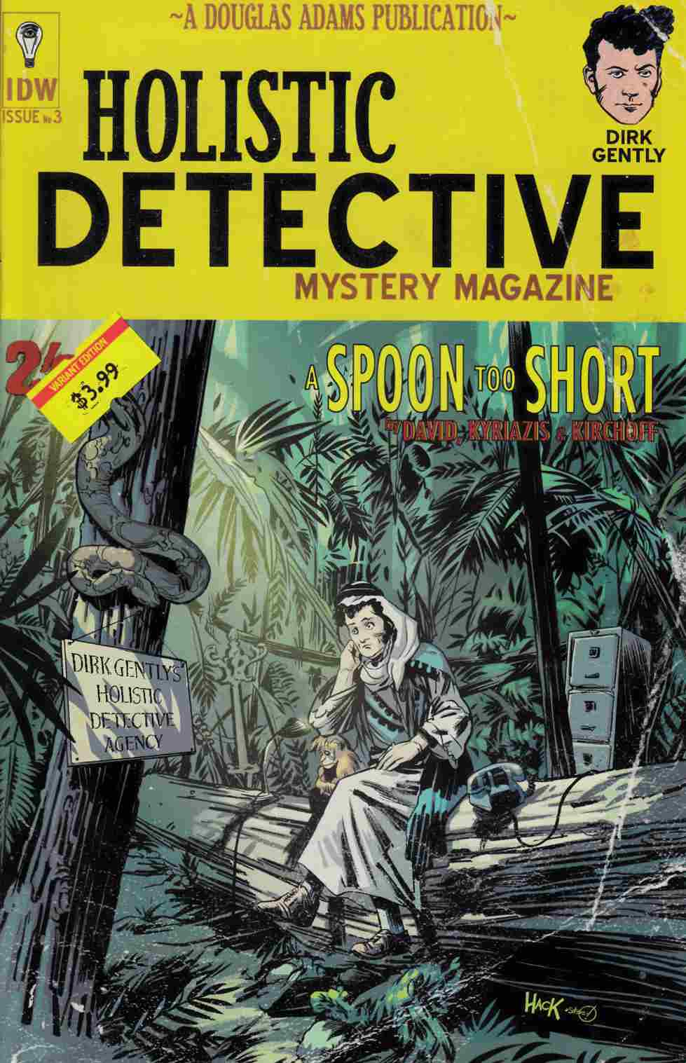 Dirk Gently a Spoon Too Short #3 Subscription Cover [IDW Comic]_THUMBNAIL