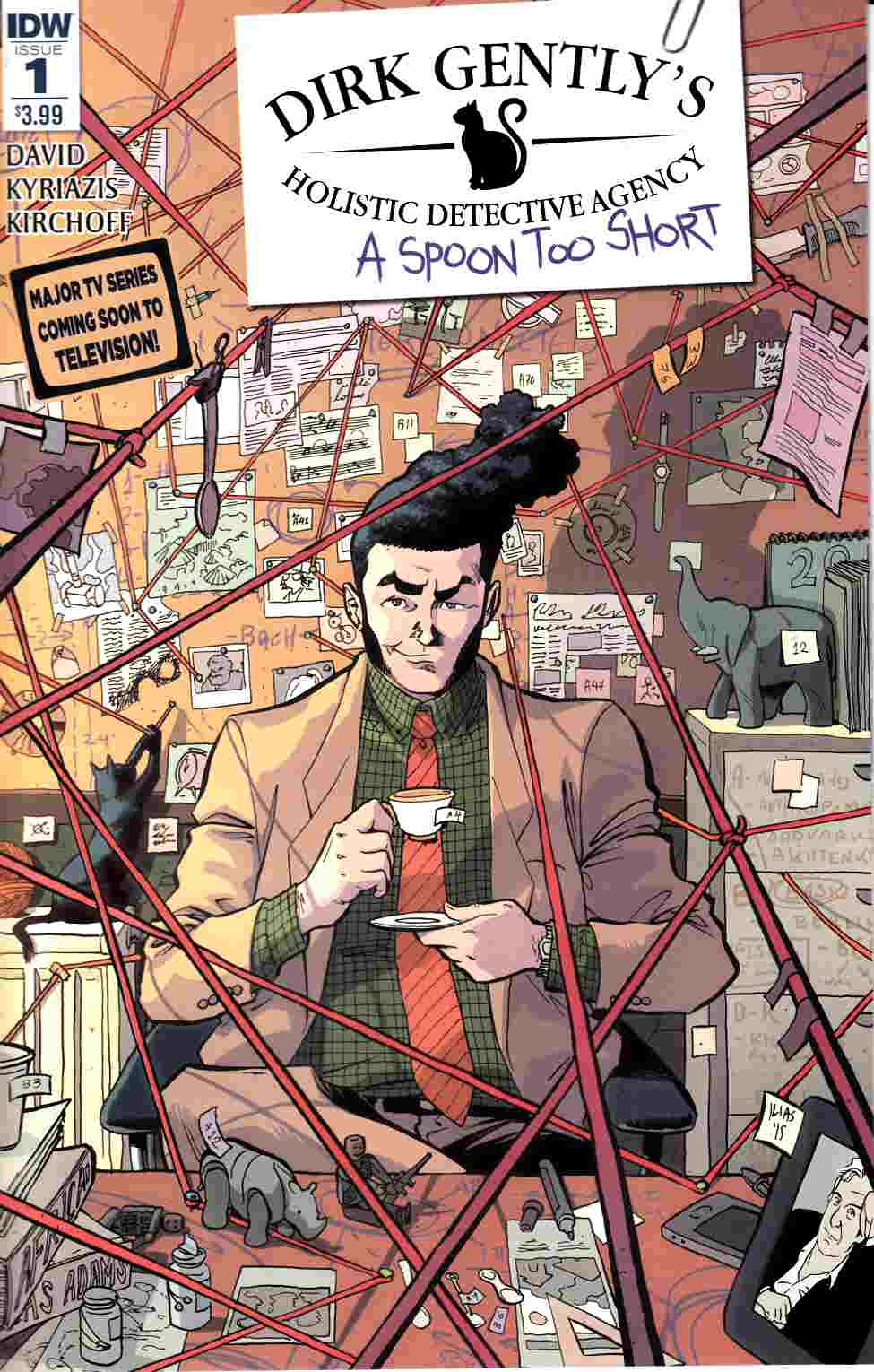 Dirk Gently a Spoon Too Short #1 [IDW Comic]