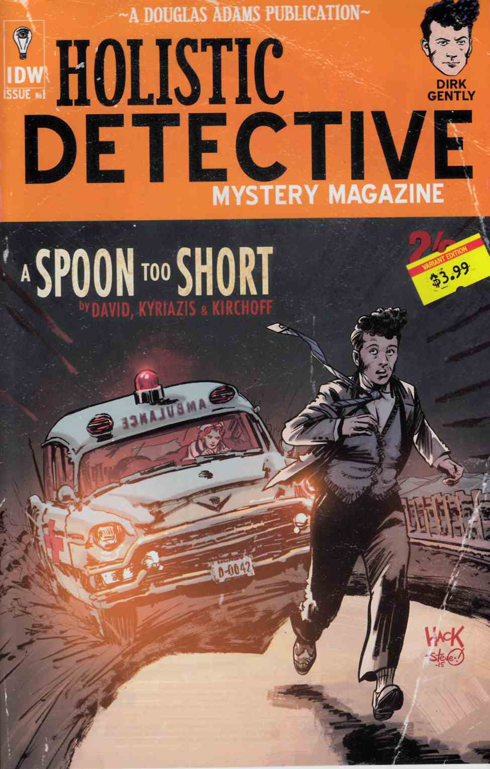 Dirk Gently a Spoon Too Short #1 Subscription Cover [IDW Comic]_THUMBNAIL