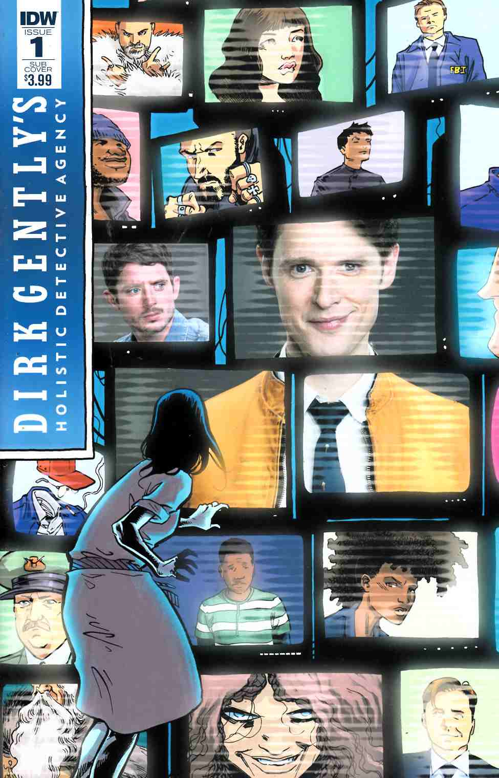 Dirk Gently the Salmon of Doubt #1 Subscription Cover [IDW Comic] THUMBNAIL