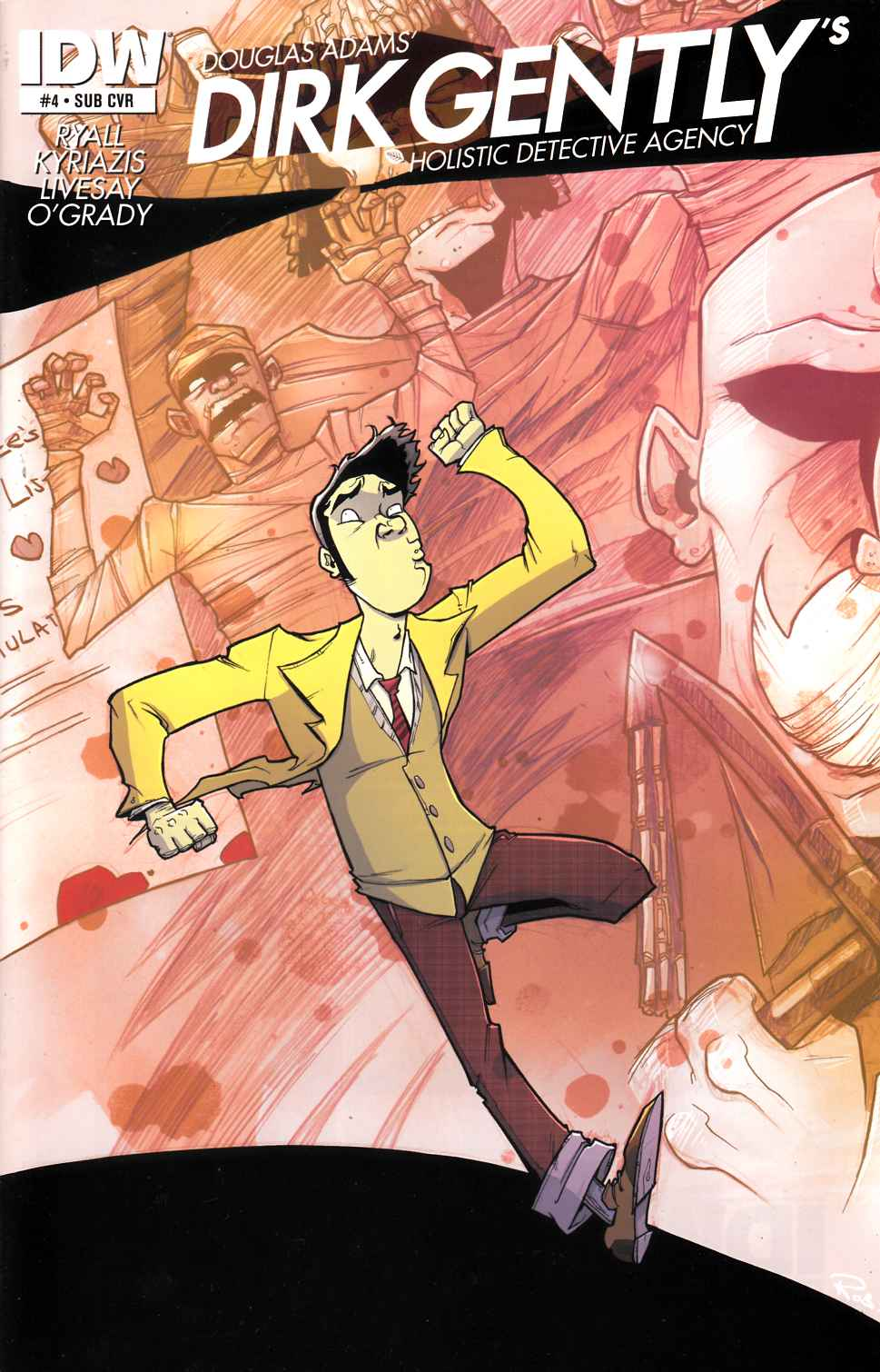 Dirk Gentlys Holistic Detective Agency #4 Subscription Cover [IDW Comic]