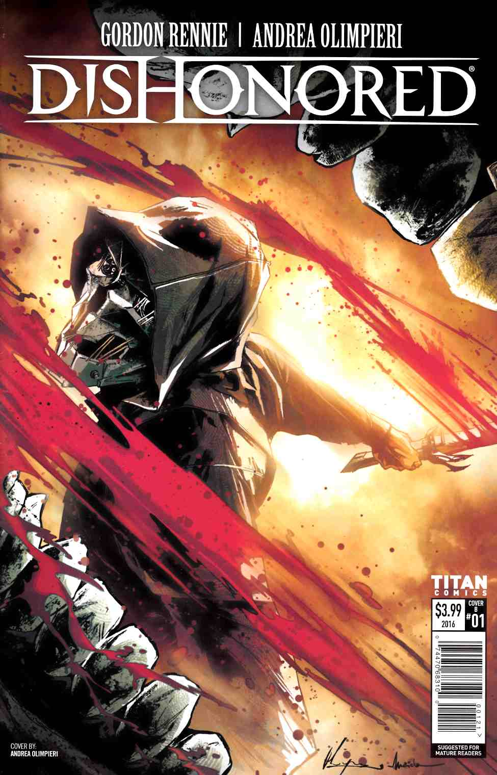 Dishonored #1 Cover B [Titan Comic]