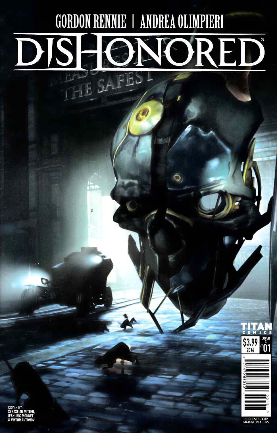 Dishonored #1 Cover C [Titan Comic]