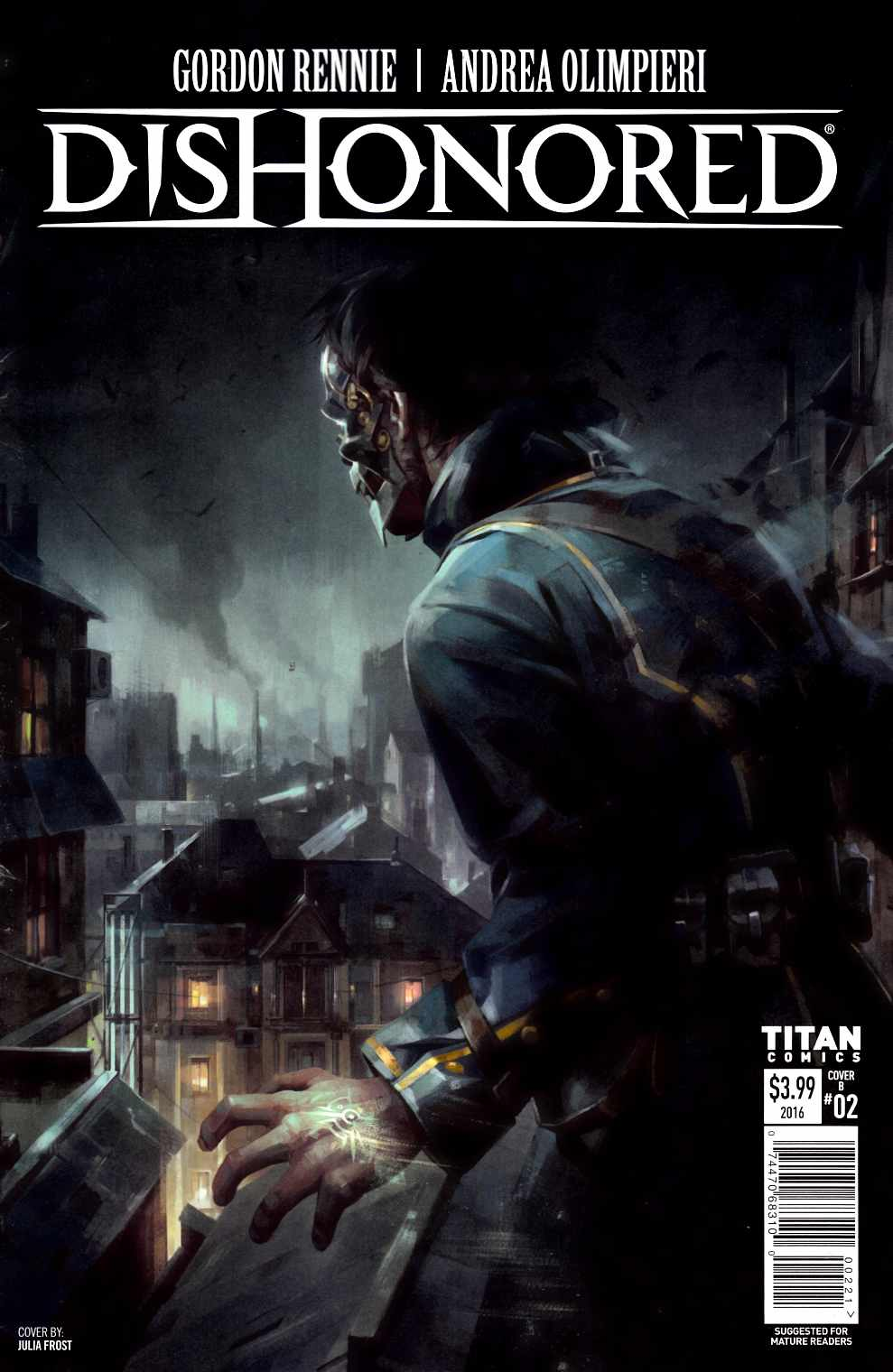 Dishonored #2 Cover B [Titan Comic]