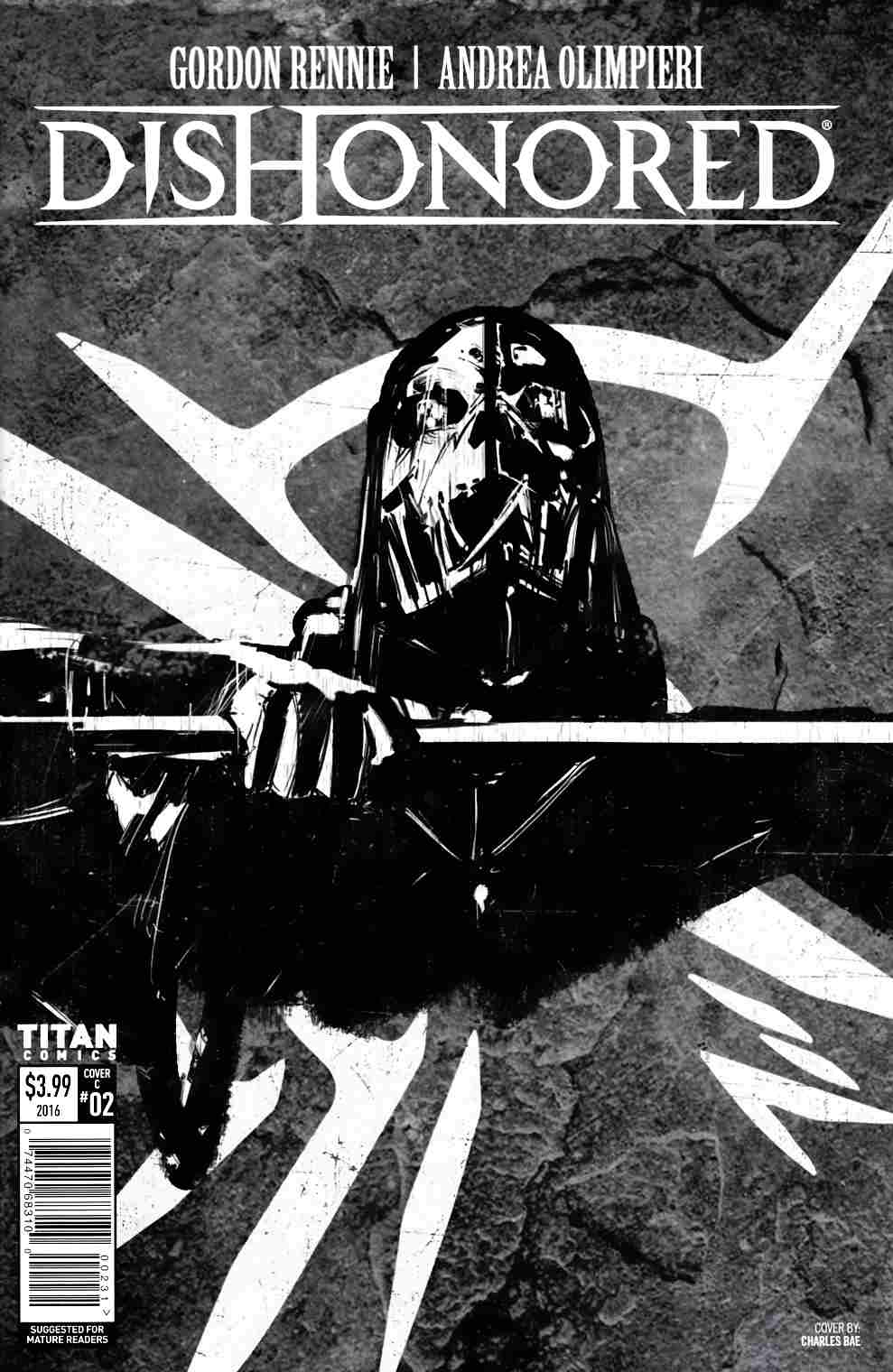 Dishonored #2 Cover C [Titan Comic]