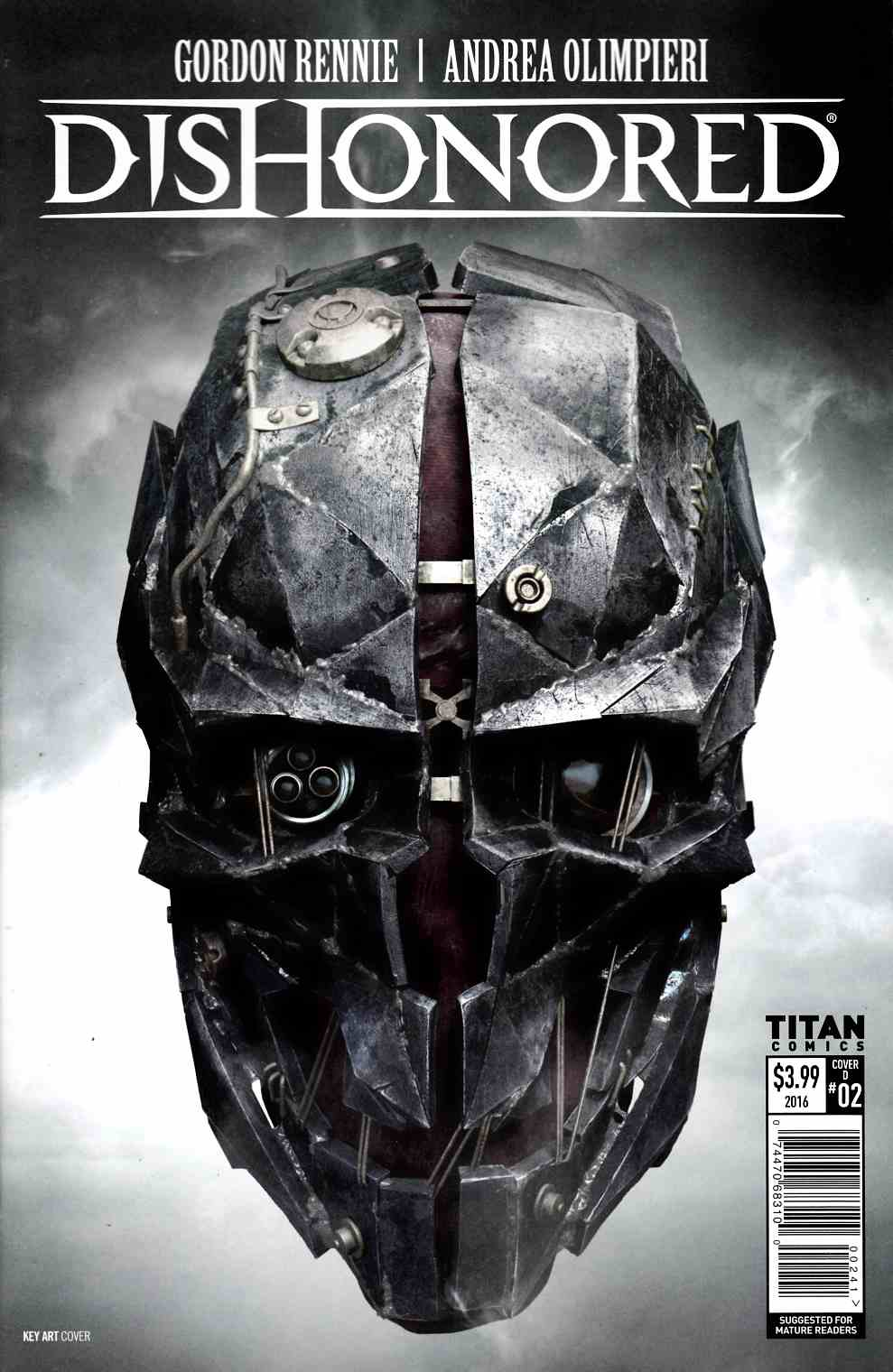 Dishonored #2 Cover D [Titan Comic]
