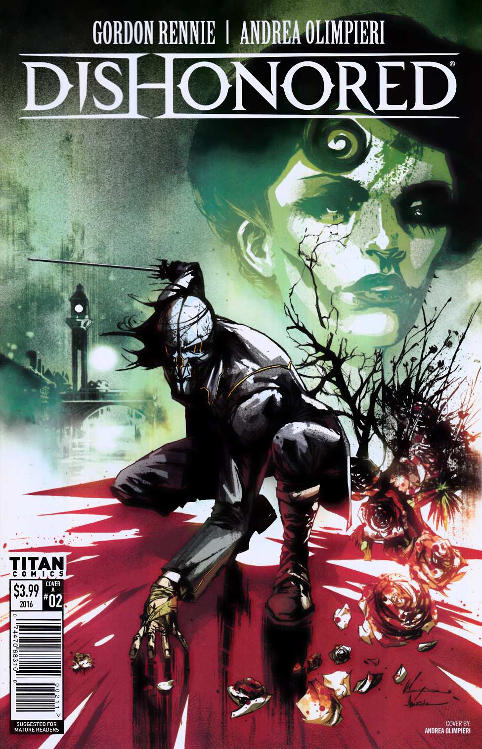 Dishonored #2 Cover A [Titan Comic]