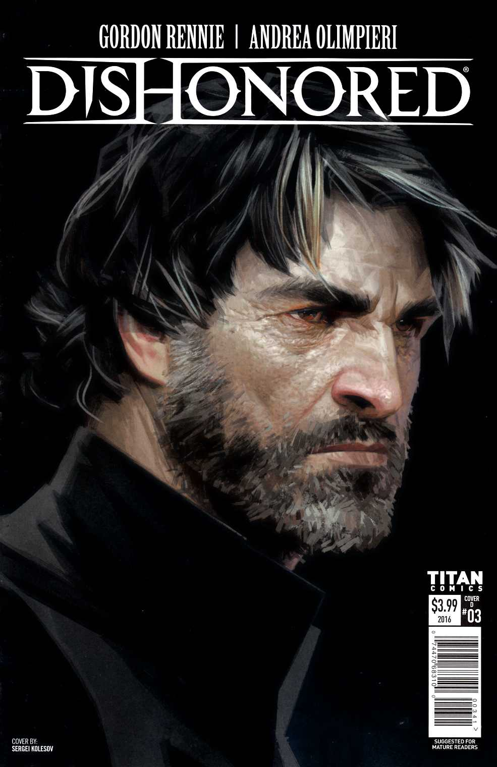 Dishonored #3 Cover D [Titan Comic]