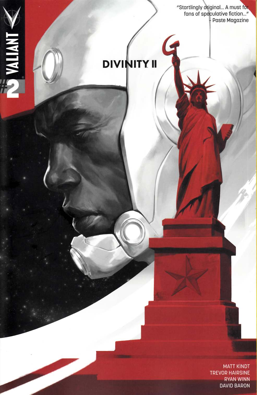 Divinity 2 #2 Cover A [Valiant Comic] THUMBNAIL