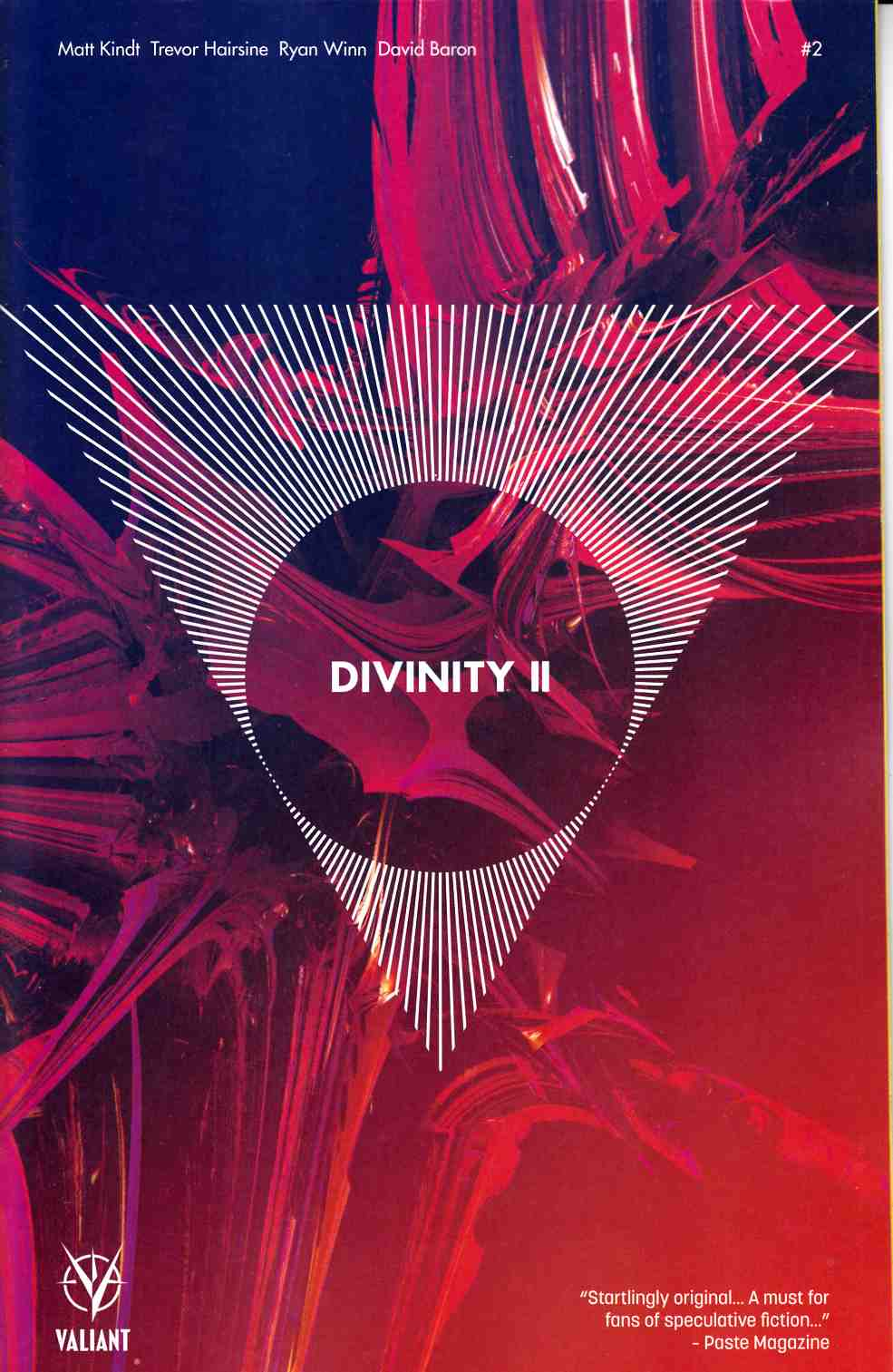 Divinity 2 #2 Cover B [Valiant Comic] THUMBNAIL