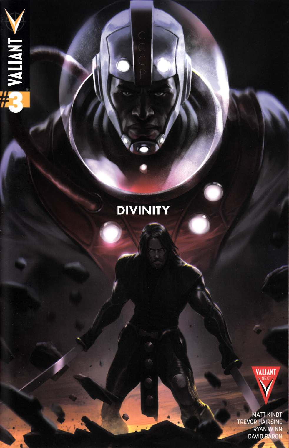 Divinity #3 Second Printing [Valiant Comic] THUMBNAIL