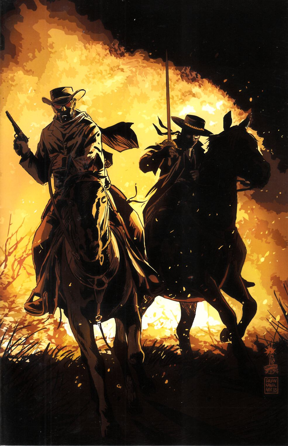 Django Zorro #1 Cover D- Francavilla Virgin Incentive [Comic] THUMBNAIL