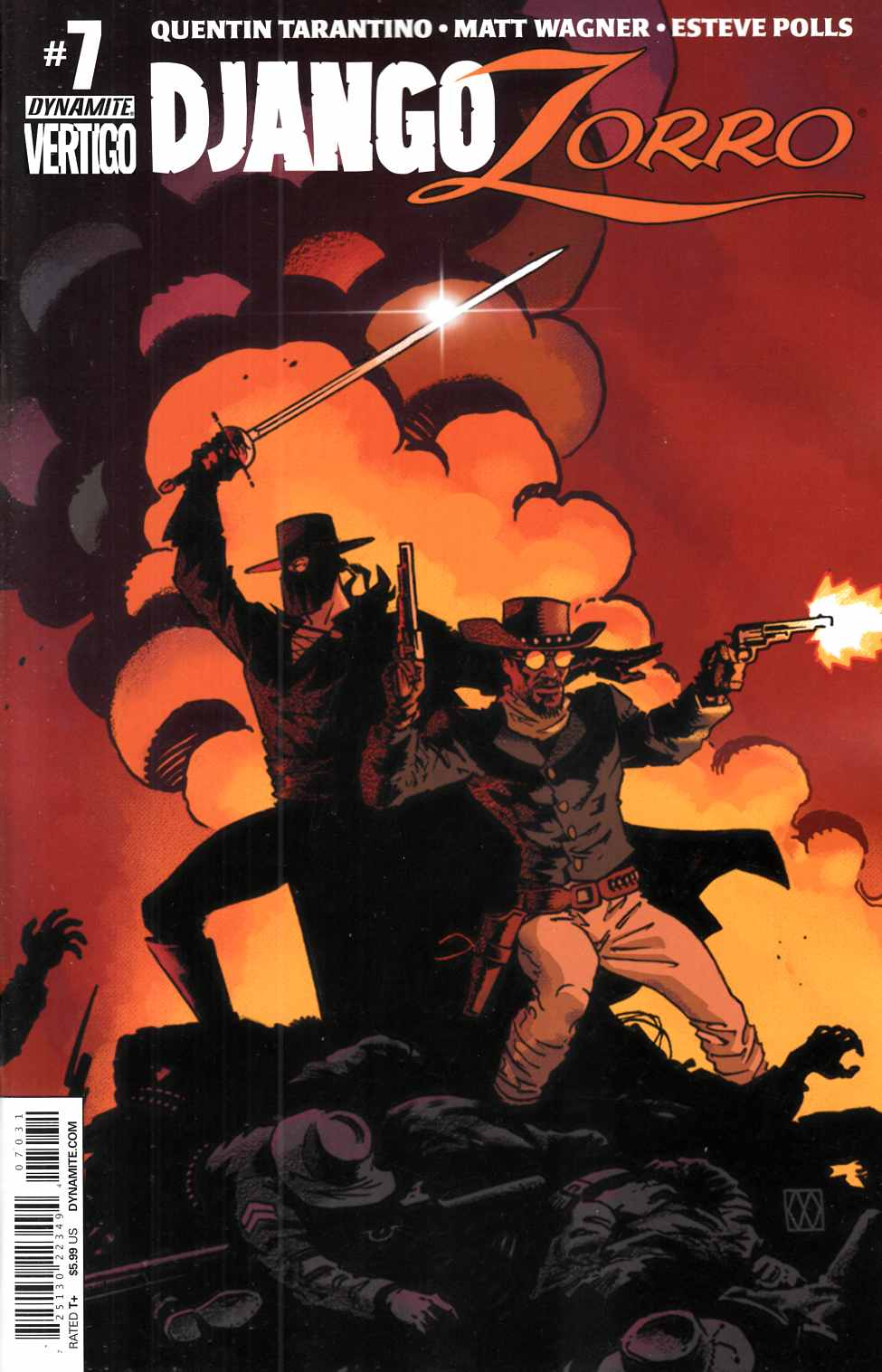 Django Zorro #7 Cover C- Subscription [Dynamite Comic] THUMBNAIL