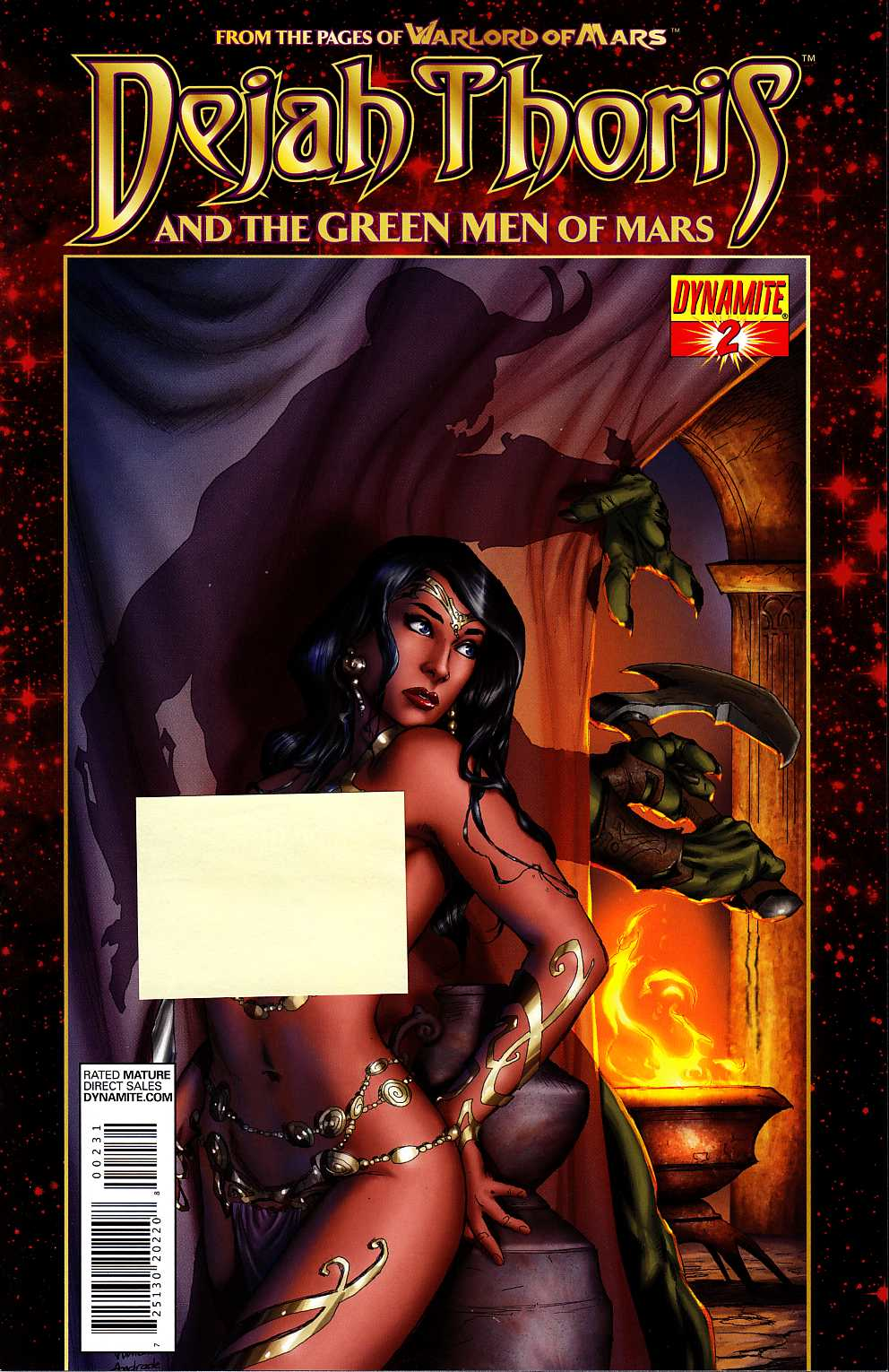 Dejah Thoris & Green Men Of Mars #2 Rubi Risque Incentive Cover [Dynamite Comic] THUMBNAIL