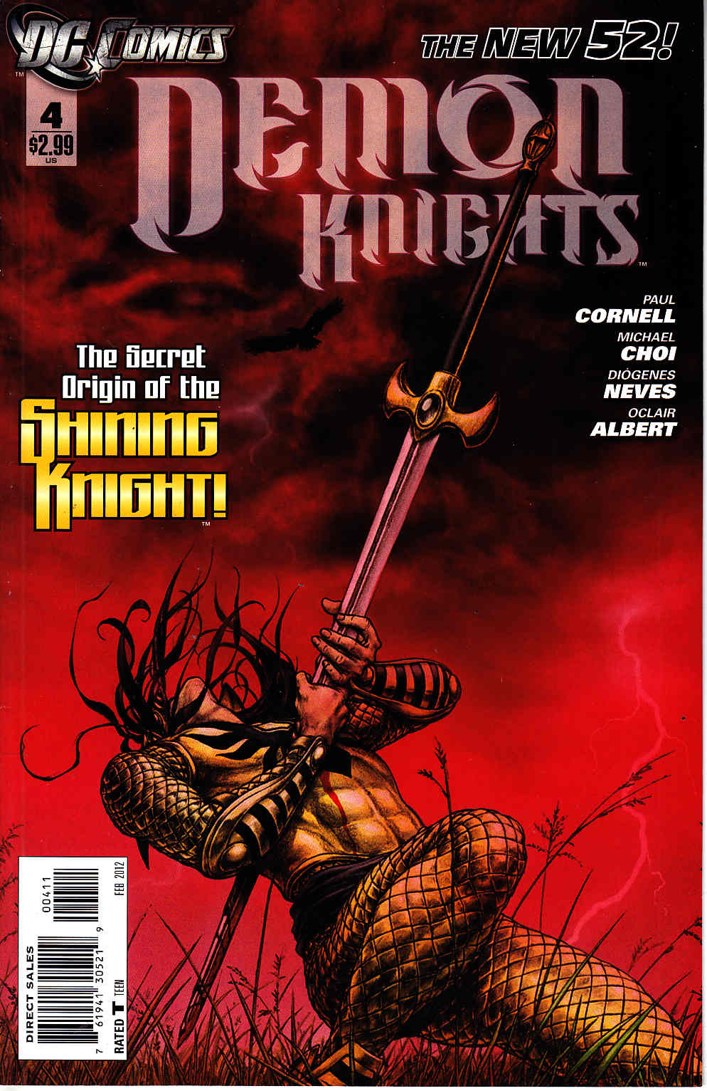 Demon Knights #4 [DC Comic] LARGE