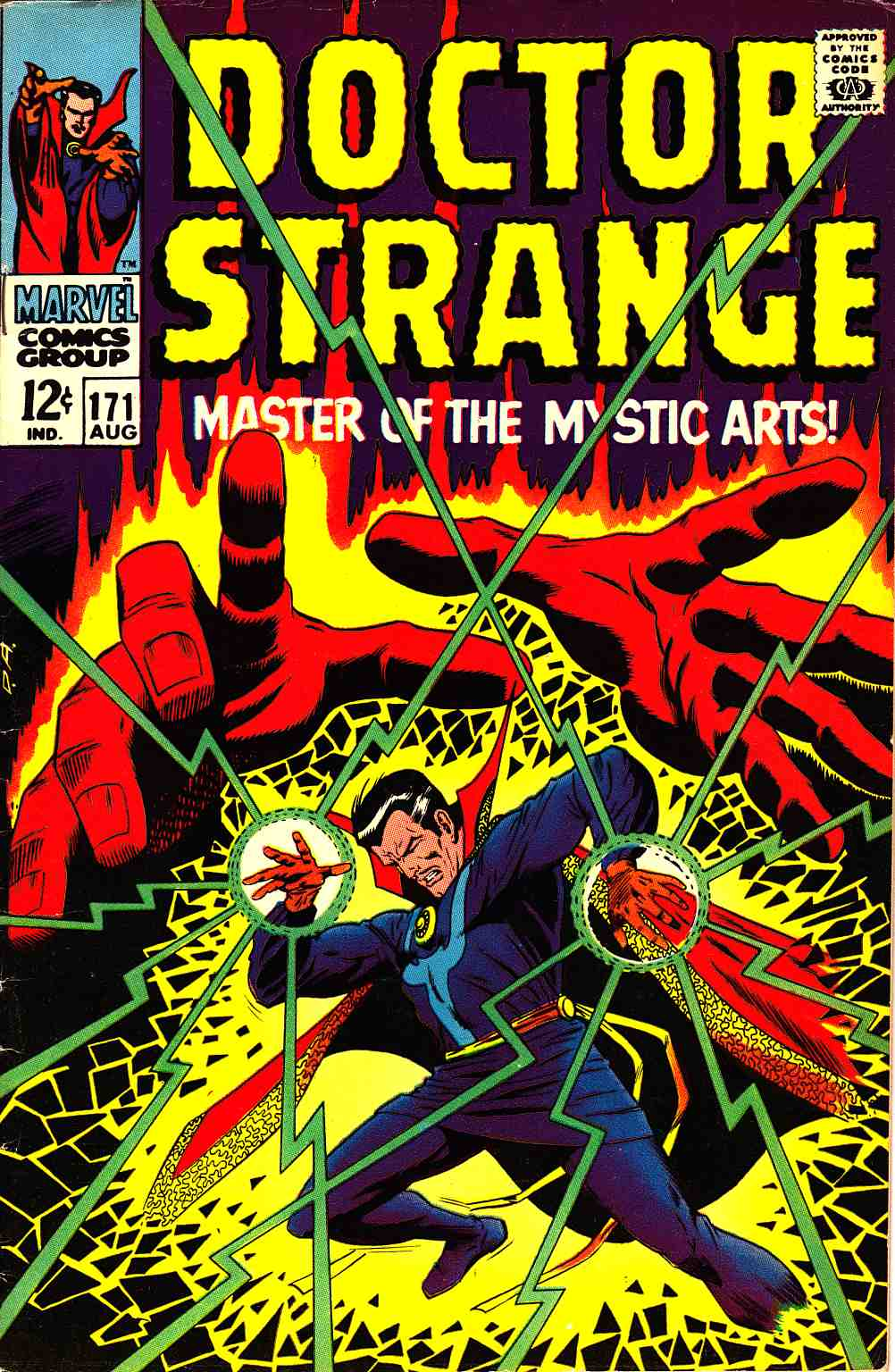 Doctor Strange #171 [Marvel Comic] THUMBNAIL
