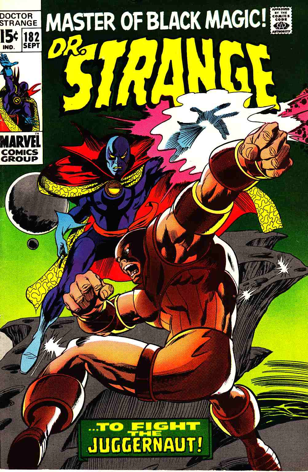 Doctor Strange #182 [Marvel Comic] THUMBNAIL